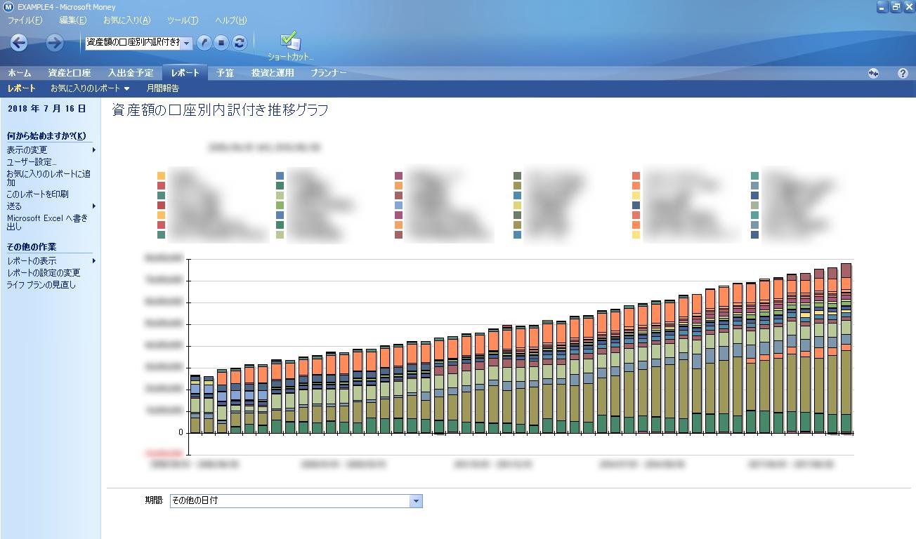 なぜマイクロソフトマネーを使い続けるのか たこぶつの家計簿ソフト